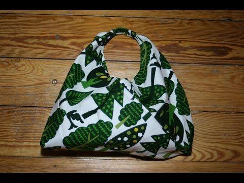 How to make japanese sleeping bag tote bag - YouTube