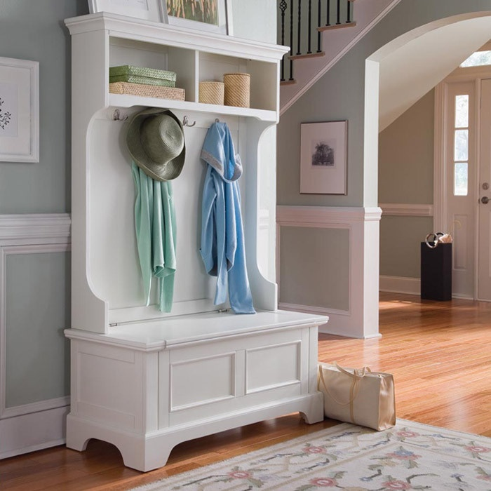 Awesome Entry Hall Bench Coat Rack