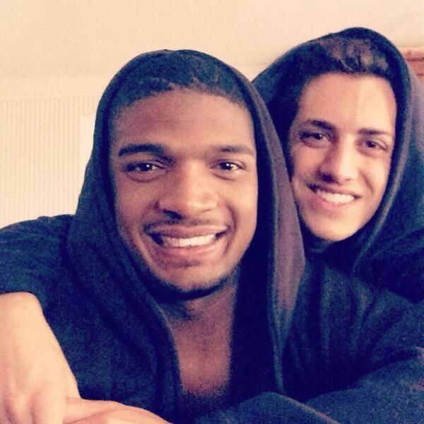 Meet The Guy Michael Sam Is Dating. These two are seriously adorable!