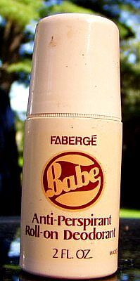 late 1970s BABE deodorant by Faberge | Flickr - Photo Sharing!