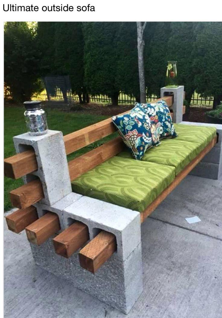 DIY-Outside sofa