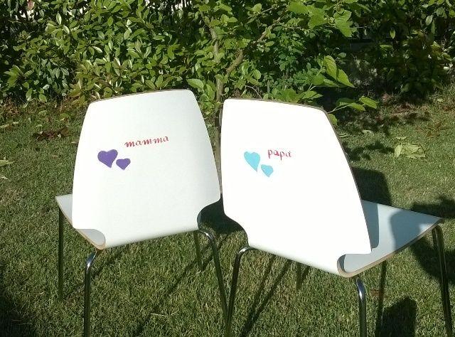#thecreativefactory #handmadespring2016 - Come decorare le sedie: idee per colorare la casa | genitorialmenteCome decorare le sedie: idee per colorare la casa | genitorialmente