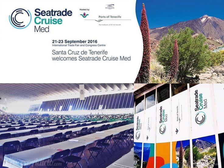 Seatrade Cruise Med Tenerife, todo listo para su inauguración19 Septiembre 2016…