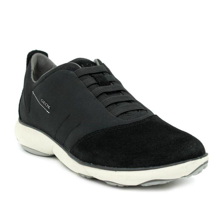 Geox U Damian B, Zapatillas para Hombre, Negro (Black), 42 EU
