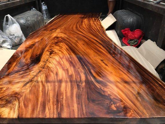 Ninnet Thailand Tisch Akazien Holztisch Aus Thailand Die Beste Qualitatsprodukt Der Originale Thaila Live Edge Dining Table Live Edge Table Acacia Wood Table