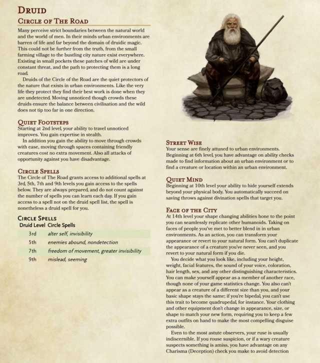 5e Class Planeshifter V3 Dnd Druid D D Dungeons And Dragons Dungeons And Dragons Homebrew