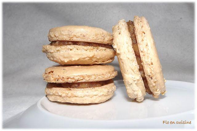 Macarons noisette/poire