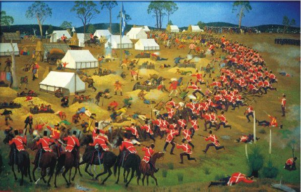Battle At Eureka Stockade