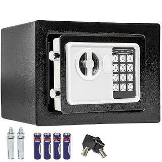 Noticias Ofertas y Oportunidades: TecTake - Caja de seguridad electrónica maciza (17...