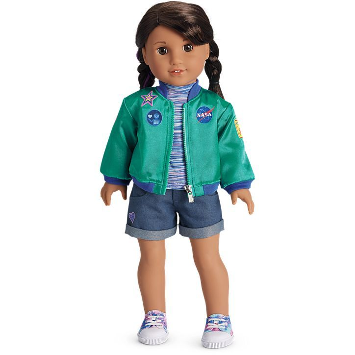 2018 American Girl Doll of the Year Luciana Science Space Food Ice Cream ONLY