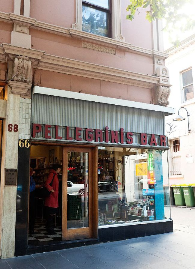 Pellegrinis – A Melbourne Institution, Featured on sharedesign.com.