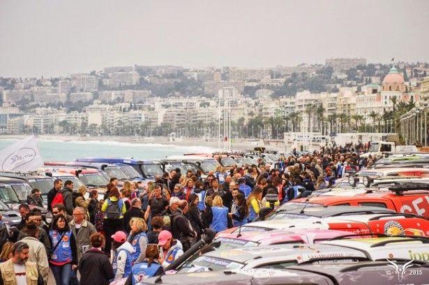 Cars - Rallye Aïcha des Gazelles : à course exceptionnelle, femmes exceptionnelles pour la 25ème édition ! - http://lesvoitures.fr/rallye-aicha-des-gazelles-2015-nice/