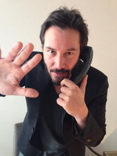 Keanu Reeves on the Phone                                                                                                                                                                                 More