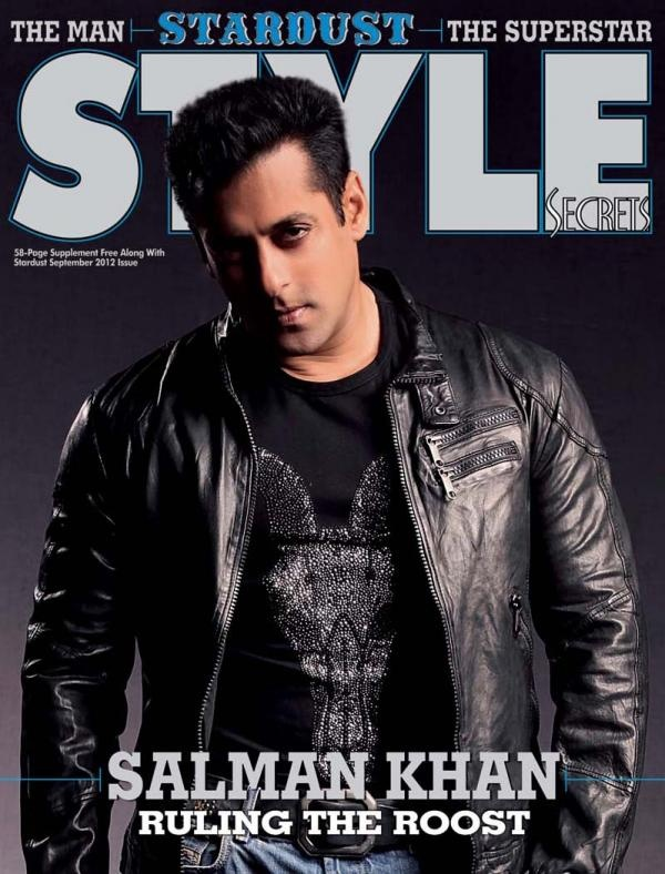 #SalmanKhan on the cover of Style.
