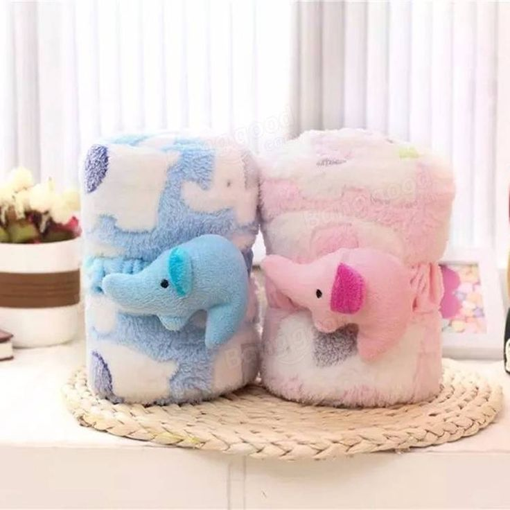 Soft, cozy, cute breathable baby blanket
