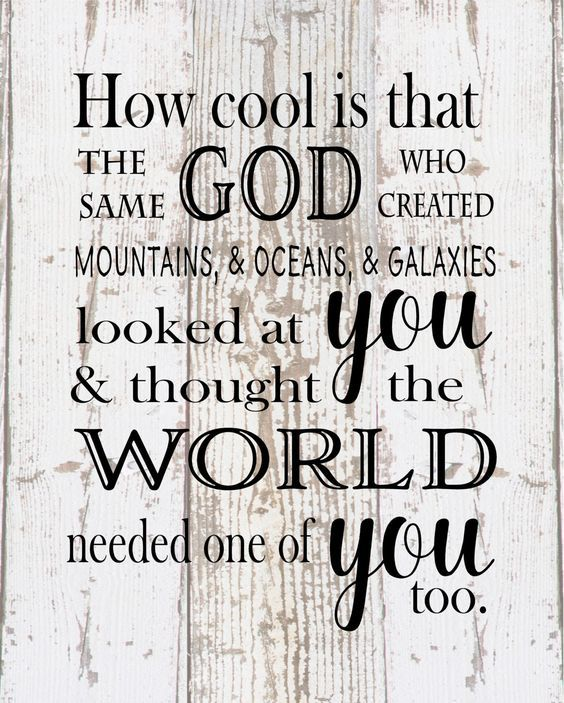 How Cool Is That God Created Galaxies and Thought World Needed You - New Baby, Children, Wood Sign or Canvas Wedding Anniversary Gift