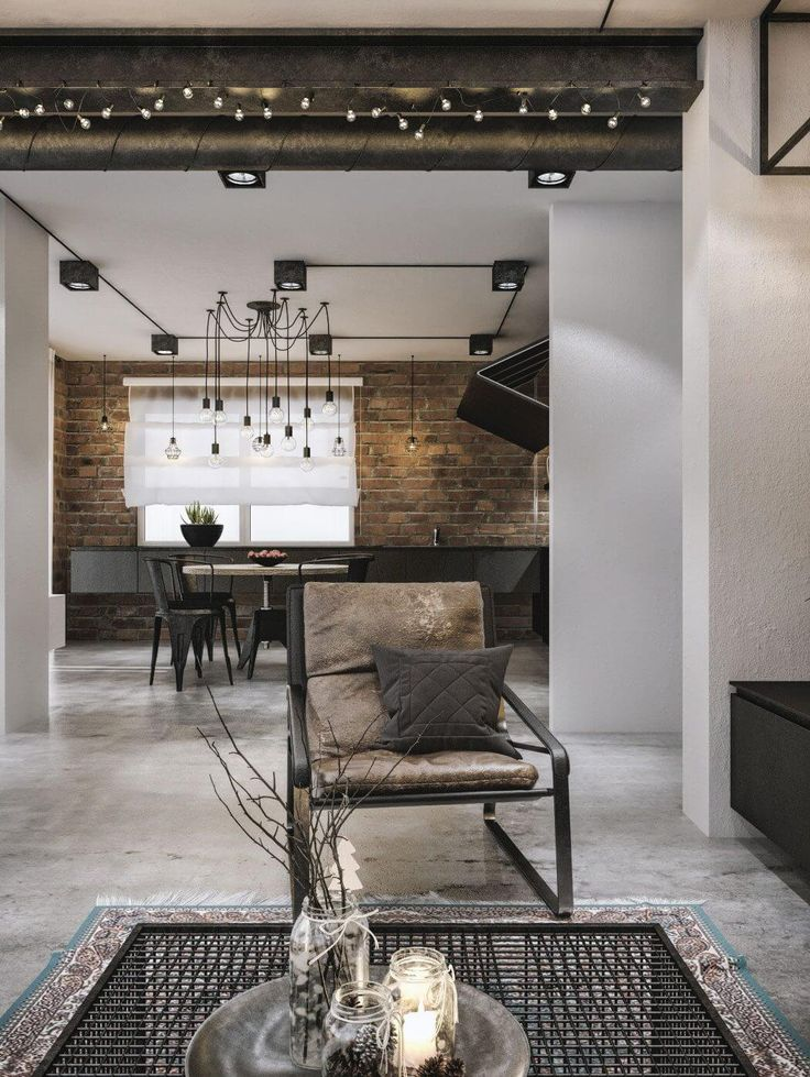 Modern Loft in Kaunas by Idwhite