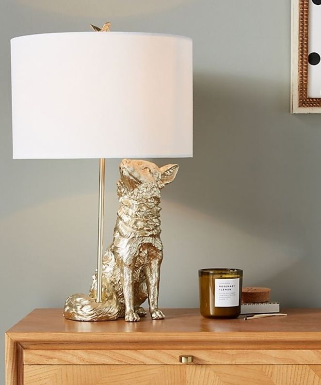 Whimsical Animal Lamps Make Nursery Design More Fun Little Crown Interiors Animal Lamp Lamp Table Lamp