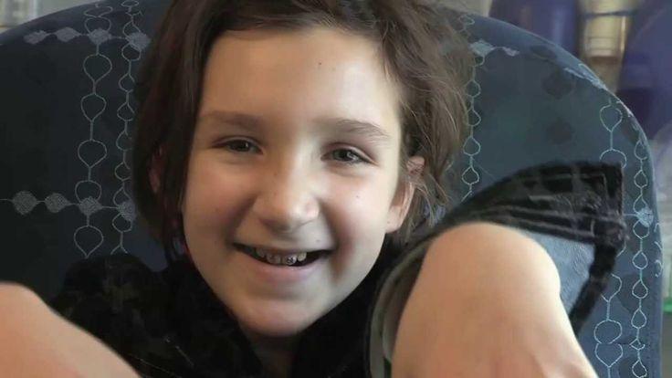 Connecticut Children's Medical Center Roar Music Video.  Go Morgan!