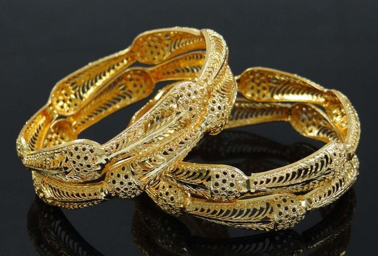 4 Pcs Bangle Gold Plated | £9.12 | Costume Bangle
