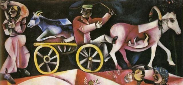 Скотопромышленник - Марк Шагал