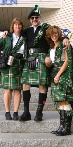 Irish kilts