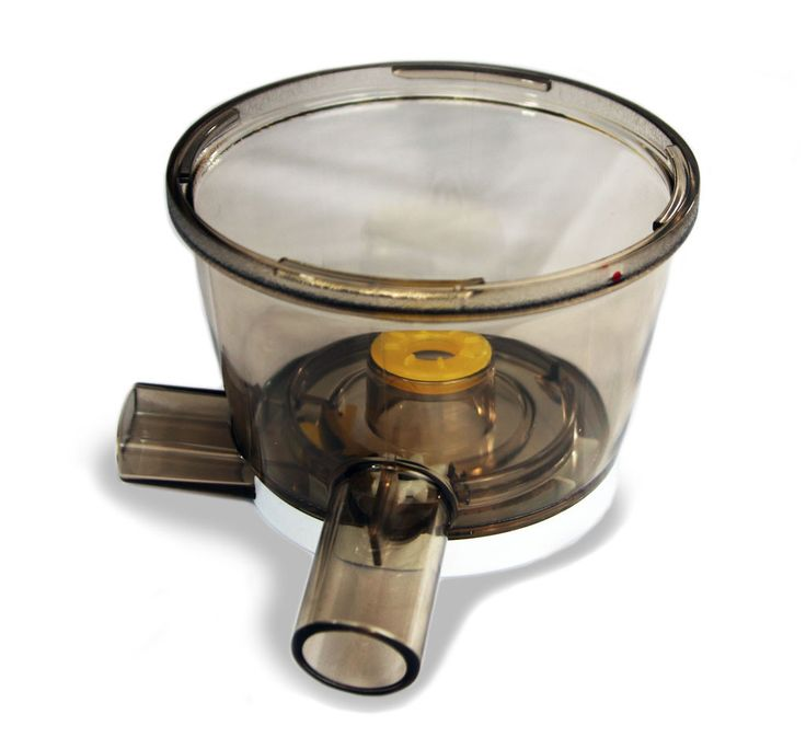 Slow Juicer Spare Parts : HUROM HU-100 Original Slow Juicer Spare Parts: Drum/ Bowl Complete Products, Juicers and Bowls