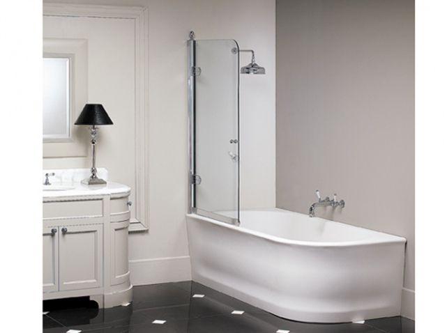 57 best images about salle de bain on pinterest - Baignoire douche design ...