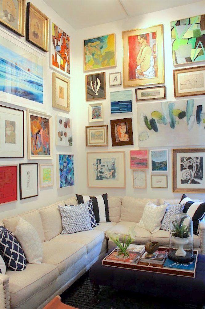 canvas art wall layout ideas 446 best art walls images on pinterest live art walls and