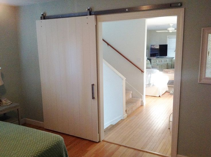 Hanging doors beautiful hanging sliding closet doors for Hanging a sliding barn door