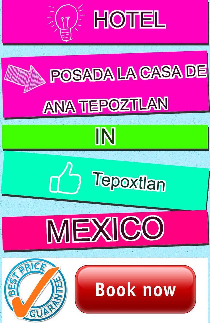 Hotel Posada La Casa de Ana Tepoztlan in Tepoxtlan, Mexico. For more information, photos, reviews and best prices please follow the link. #Mexico #Tepoxtlan #travel #vacation #hotel