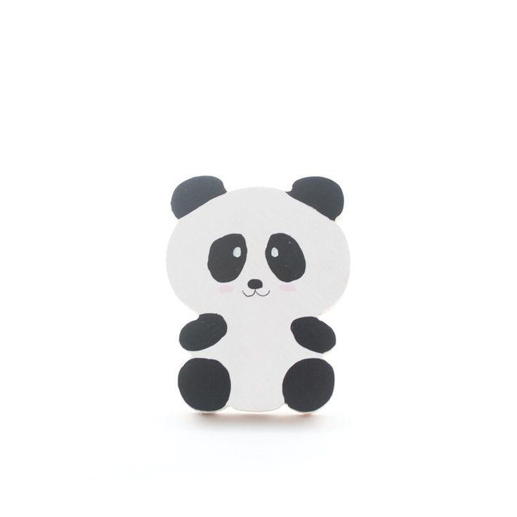 Panda | Classic | Wall Hooks | The Wall Collective