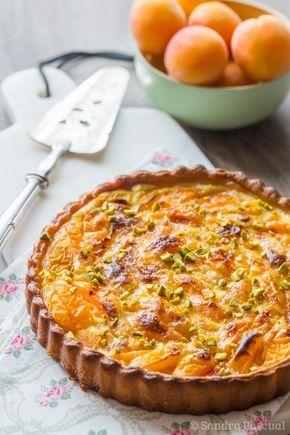 Tarte Abricot & Pistache à la Crème Fraîche