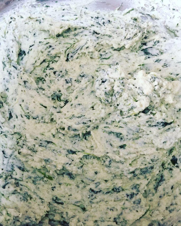 Ripieno per cannelloni Ricotta e spinaci