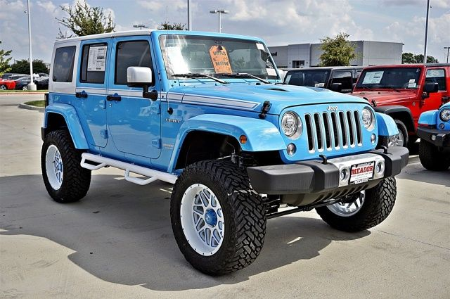 New 2017 Jeep Wrangler Unlimited Chief Edition Suv Fort Worth Tx