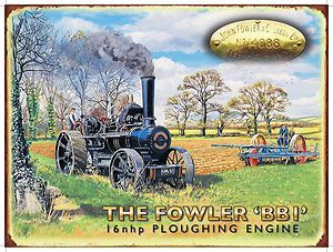 Fowler, Ploughing, Steam Traction Engine