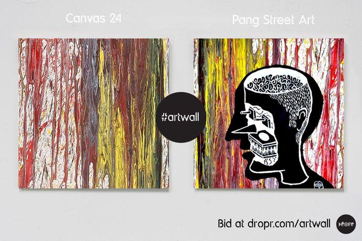 Pang Street Art Bid @ http://dropr.com/auction