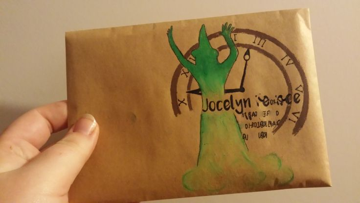 An other Wicked envelope / http://ineffable-inow.blogspot.be