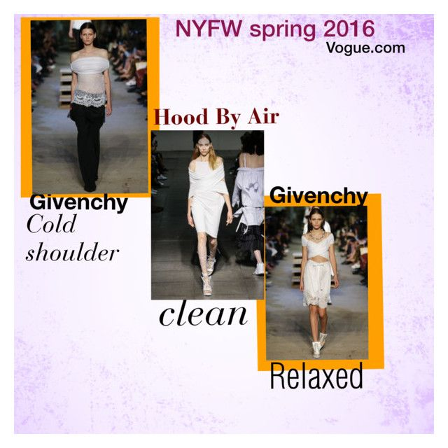 """Lexus Price NYFW SPRING 16"" by lexusmprice on Polyvore featuring Givenchy and Hood by Air"