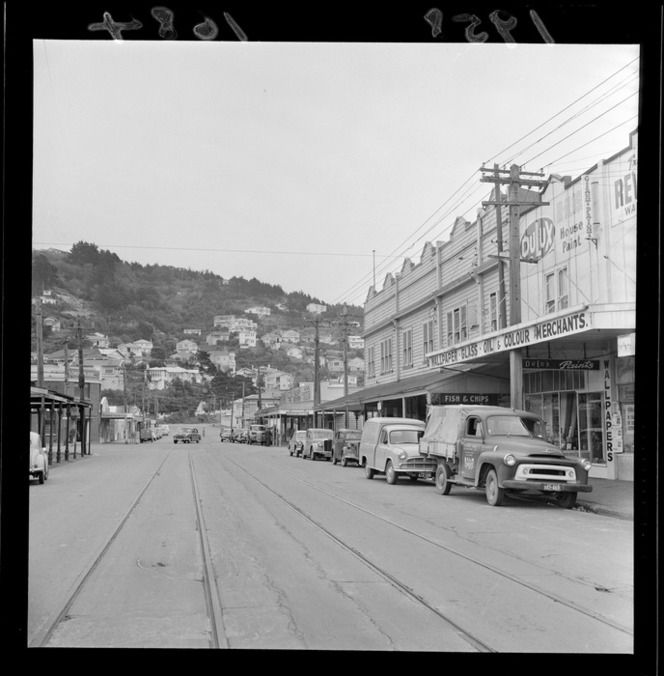 Kilbirnie shopping area, Coutts Street, Wellington