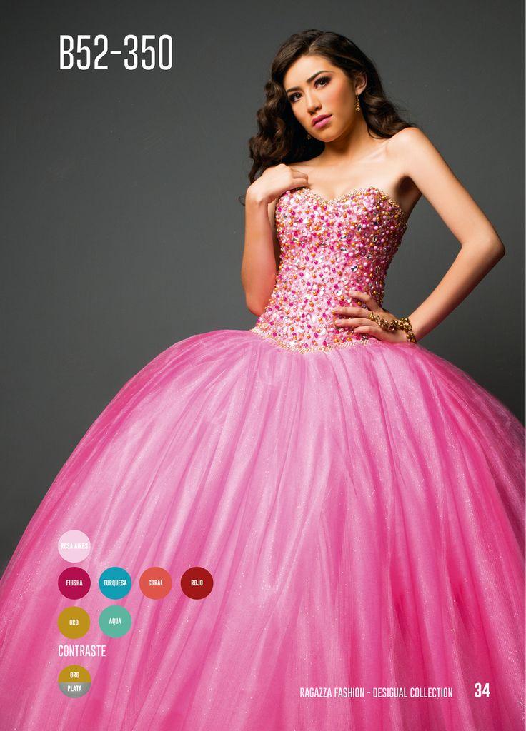 Mejores 7 imágenes de 15 años en Pinterest | Quinceañera, Vestidos ...