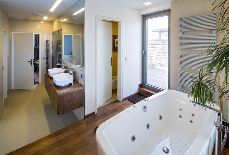 Pro větší komfort je v koupelně samostatná parní lázeň od Effegibi.