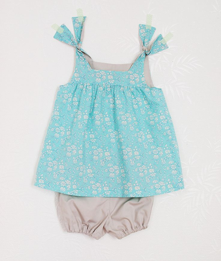 Patron bébé robe Fauvette / Les Fusettes