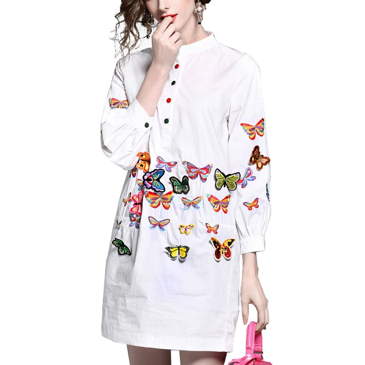 New women summer and Spring dress casual style white and balck cotton dresses