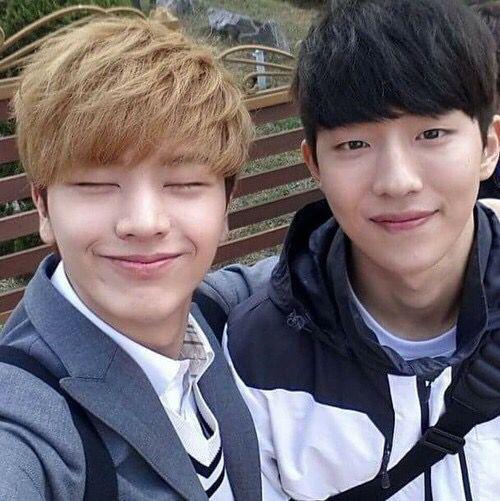 Nam Joo Hyuk and BTOB Sungjae #school2015
