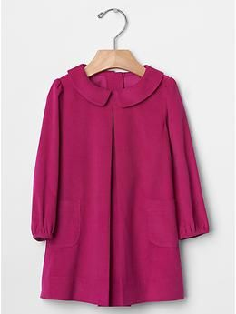 Peter pan cord dress | Gap