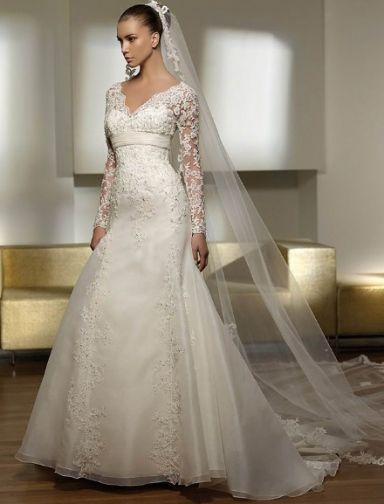Свадебные платья ампир с кружевом