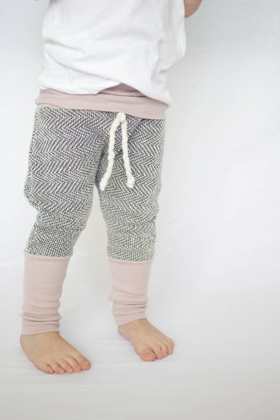 Knit Baby Harem Pants Baby comfy Pants by AnchoreDeep on Etsy