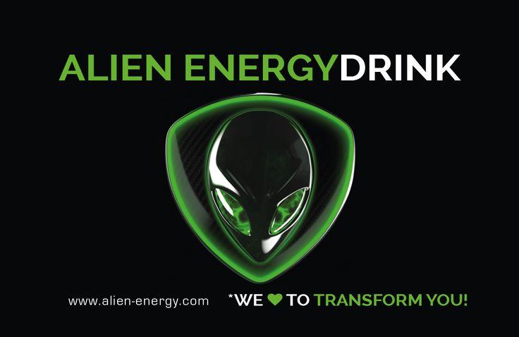 Clubkarte ALIEN ENERGY  auch als Kredit-  / Debit Karte