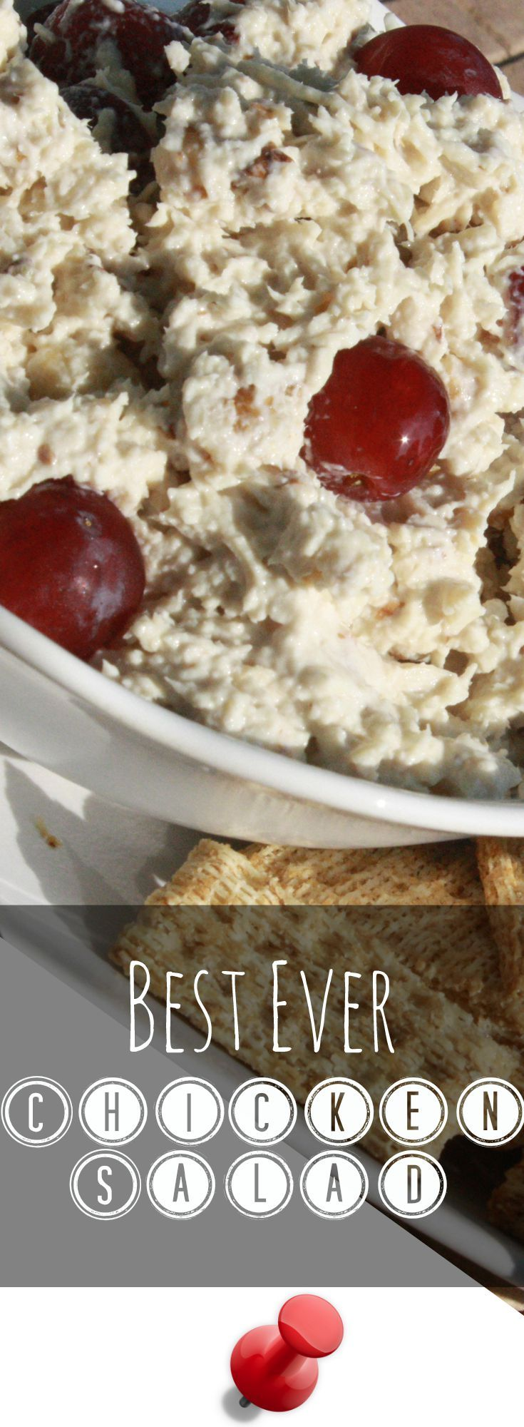 Get the best ever Chicken Salad recipe from Coupon Cravings! This recipe makes a superb chicken salad sandwich as well as a great dip! http://couponcravings.com/best-ever-chicken-salad/